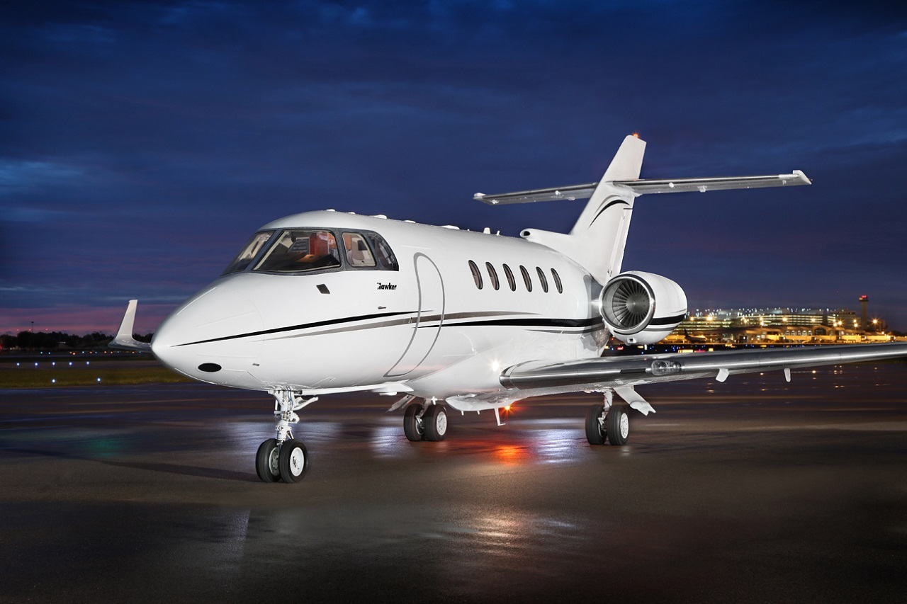 Hawker 850 Jet Aircraft exteriors by Randy Smith Photo
