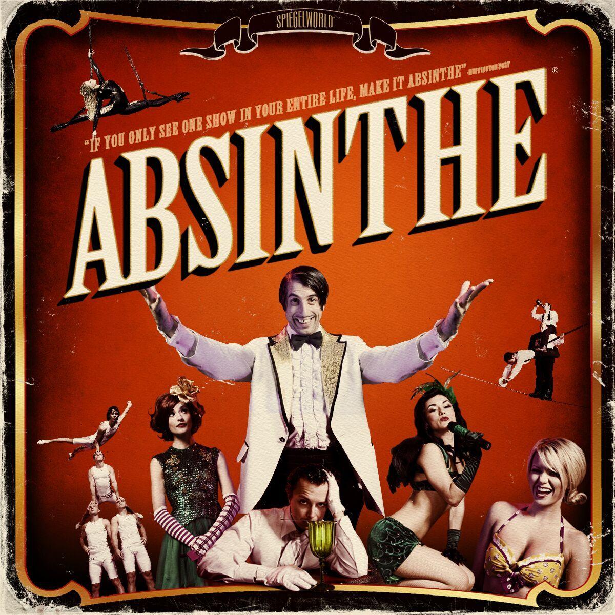 Absinthe Show Photo Tour - Photo Tours Vegas