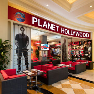 Planet Hollywood Dining Photo tour